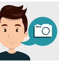 Man camera photo images vector