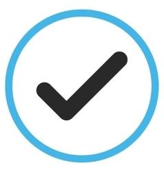 Ok Flat Icon vector image