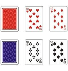 Playing card set 03 vector