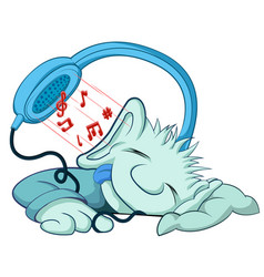 Relaxing music vector