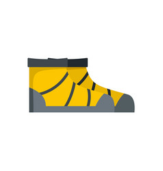 River boots icon flat style vector