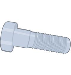 Screw bolt vector