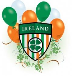 St Patrick's day celebration vector image