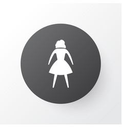 woman icon symbol premium quality isolated female vector image vector image