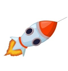 Rocket icon Startup concept Project development vector image