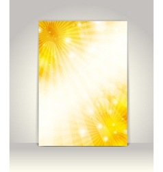 Business brochure design vector image
