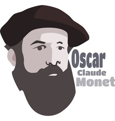 Claude Monet vector