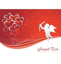 Cupid heart vector