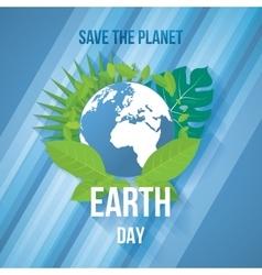 Earth Day Ecology concept vector