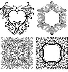Elegant design elements vector