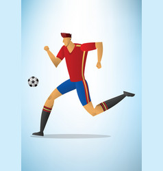 Football player 06 vector