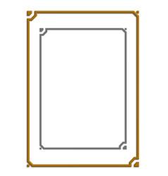 Modern frame board vector