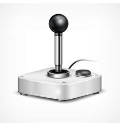 Retro joystick vector image