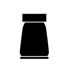 Salt bottle vector