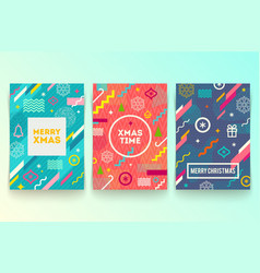 Set of abstract holidays background or banners vector
