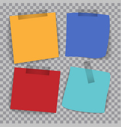 Set of tags on a checkered background vector