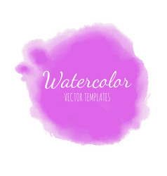 set watercolor background 8 vector image