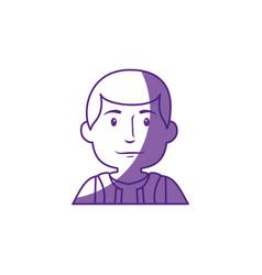 Worker man cartoon vector