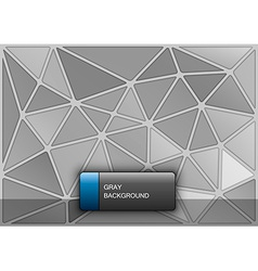 Gray Triangles vector image