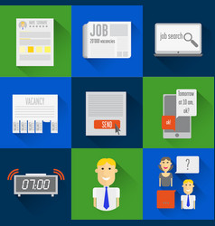 icons search vector image