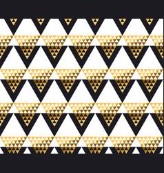 Modern geometry american indian tribal seamless vector