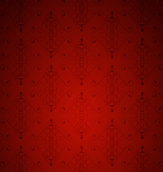 Red little background vector image vector image