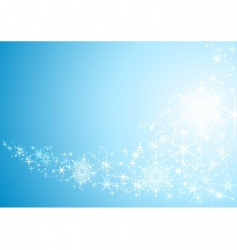 sparkling stars vector image vector image