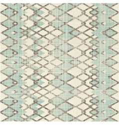 Criss cross zig zag pattern vector image