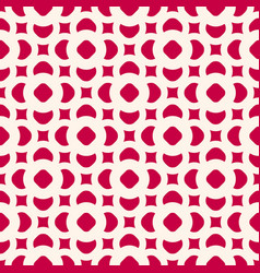 seamless pattern in oriental style red and beige vector image