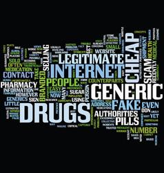 Beware of false positives and fake generics text vector