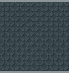 Dark gray embossed paper seamless pattern vector