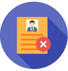 Invalid user profile vector