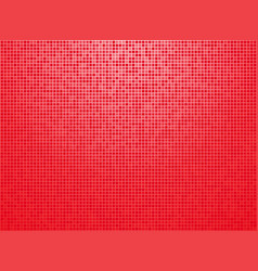 red checkered background with light vignette vector image