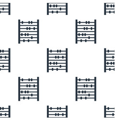 seamless abacus pattern education symbol from vector image