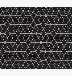 Seamless geometric pattern contemporary vector