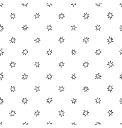 Simple seamless pattern with stars vector