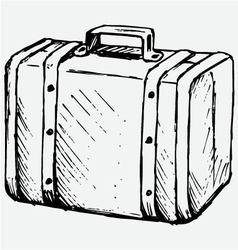 Suitcase Travel vector