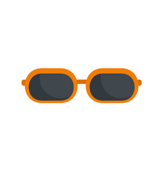 Sun glasses icon flat style vector