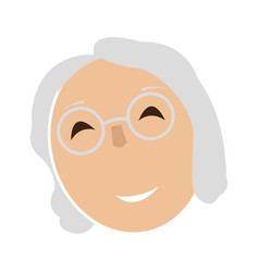 avatar of a grandmother vector image