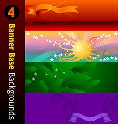 banner base set vector image