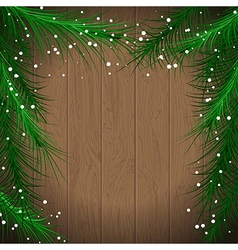 christmas tree7 vector image