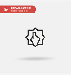 Counting simple icon symbol vector