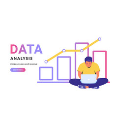 Data analysis for increasing sales and revenue vector