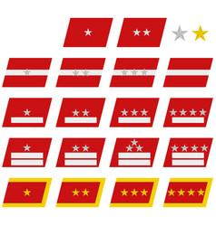 Insignia army vietnam vector