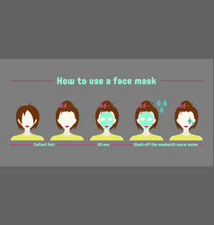 instruction mask vector image
