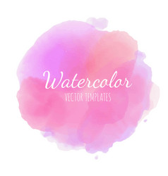 set of watercolor background 12 vector image