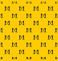 Swallowtail butterfly pattern vector