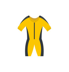 Thermo river clothes icon flat style vector