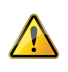 warning danger sign vector image