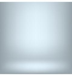 Empy blue interior vector image